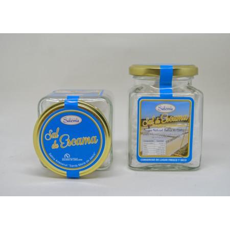 Sal de escama Tarro de Cristal (125 gr.)