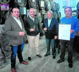 Bodegas Manuel Aragón El Sanatorio premiada como mejor bodega de Andalucía